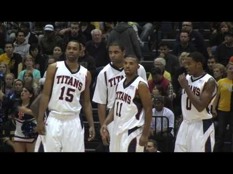 CAL STATE FULLERTON TITANS VS LONG BEACH STATE 49ERS (01/07/10) Video