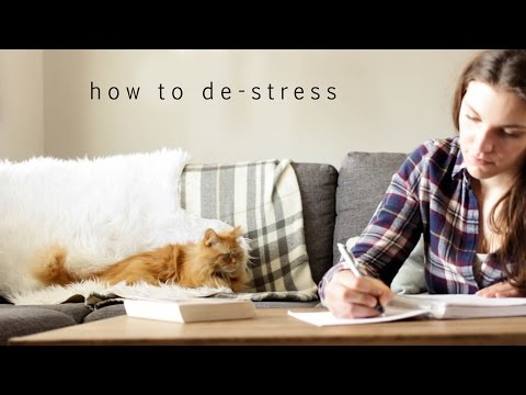 How to de-stress | My tips to relax and reduce your stress