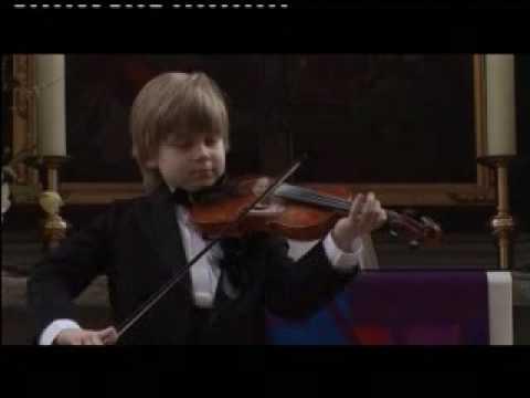 Lucas Wecker - 8 Jahre - Violine - Berio