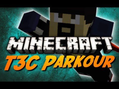 Minecraft Maps - t3c Parkour - Stage 4 - Pt. 1 w/ CavemanFilms!
