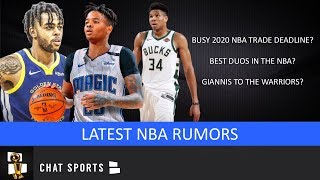 NBA Rumors: MEGA NBA Trade Deadline? Giannis To Warriors? Best NBA Duos According To Kobe?