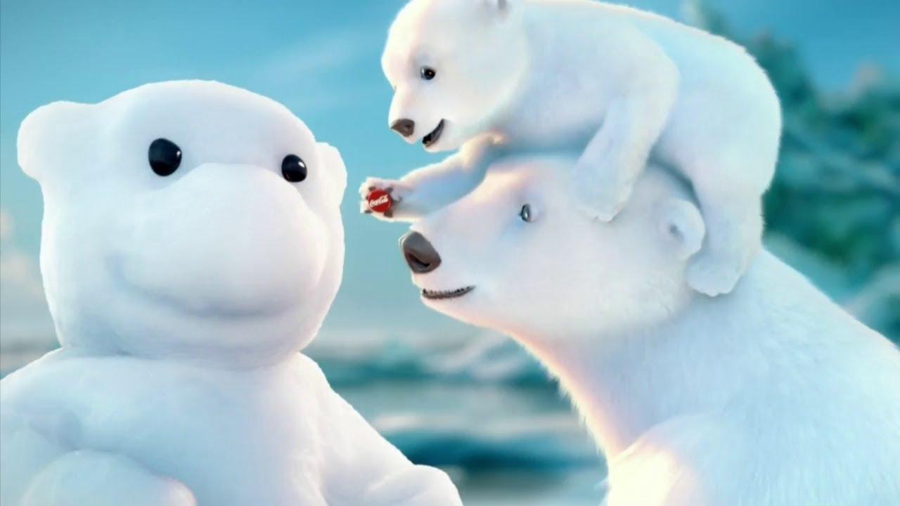 Coca Cola Werbung Polarb Snow Bear Deutsch