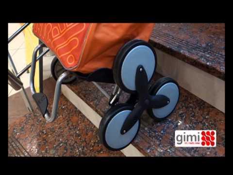Wózek na zakupy tris GIMI