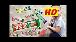 Teddy Kids Go Home And Sand KITKAT - Johny Johny Yes Papa Funny Songs For Kids HD 2018