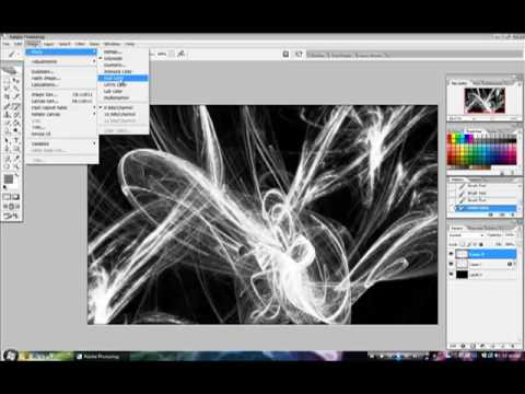 0 Photoshop Tutorial   Create An Awesome Looking Desktop Background, Hints Revealed!