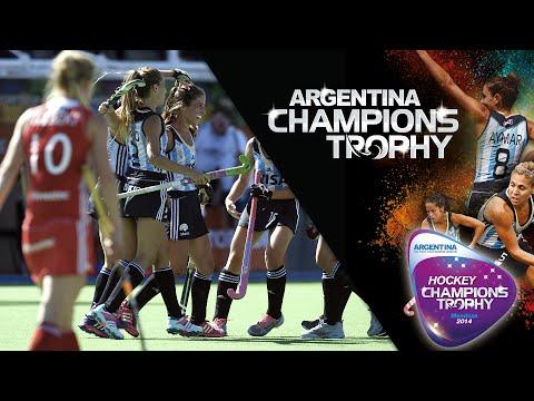 England vs Argentina - Women's Hockey Champions Trophy 2014 Argentina Group B [2/12/2014]