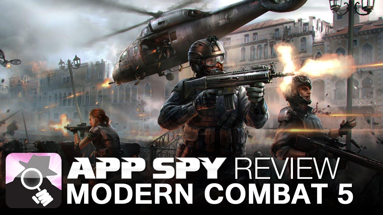 modern combat 5 blackout ios iphone gameplay