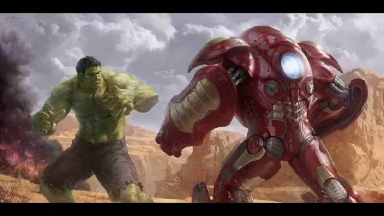 Битва Халка с Железным человеком и война людей с