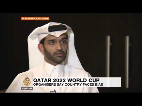 Qatar's football chief critises 'media bias'