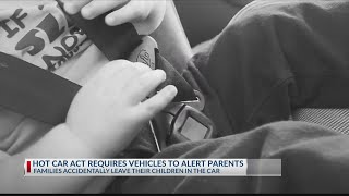 Lawmakers want vehicles equipped with technology to remind parents of children in back seat