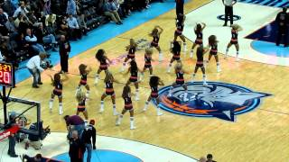 "Bobcats vs Mavericks - LadyCats ""It's always a good time"" 11/10/12"
