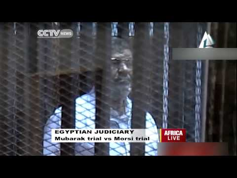 Egyptian Judiciary: Mubarak vs Morsi Trial