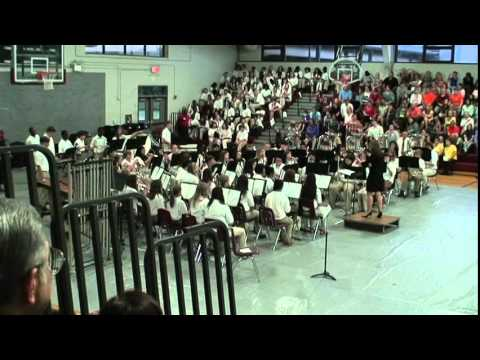 """Arabian Dances"" by Roland Barrett (Lowndes Middle School Band)"
