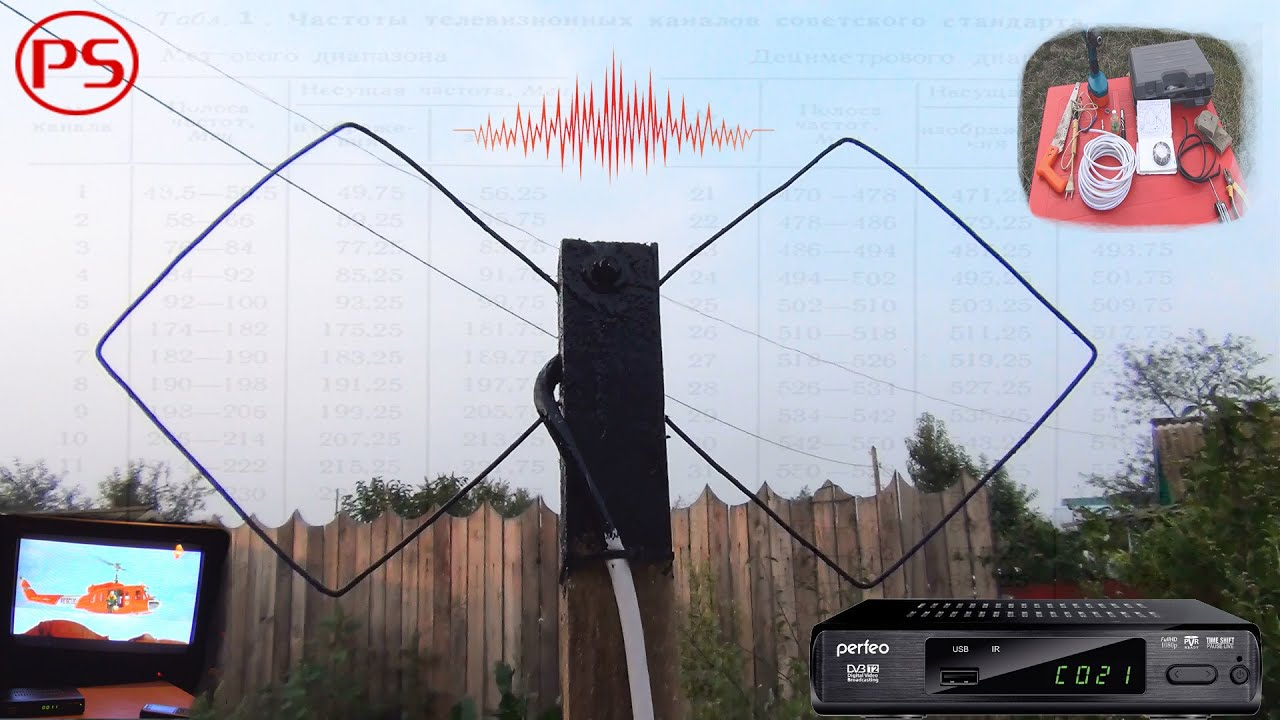 Цифровая антенна dvb-t2