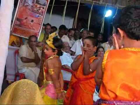 Shwetha menon's daughter's ceremonial rice feeding at paramekkavu