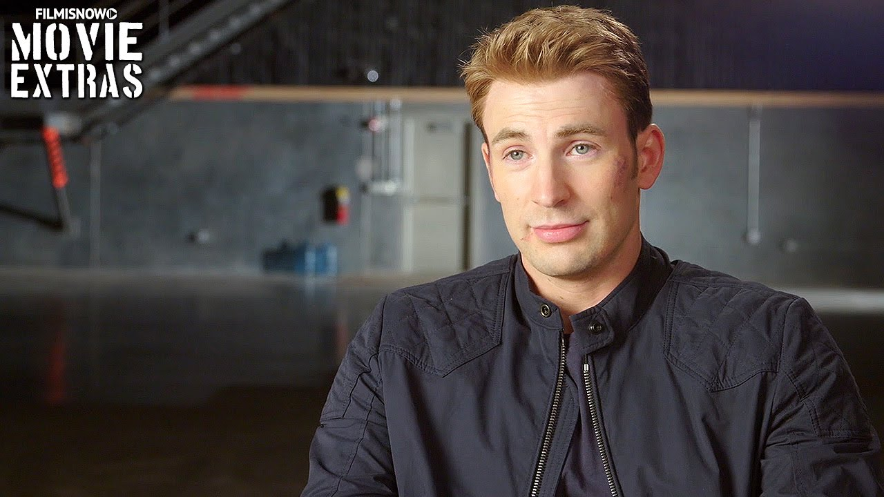 Captain America: Civil War | On-set with Chris Evans 'Steve Rogers  Captain America' [Interview]