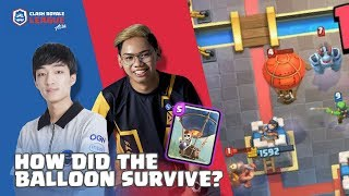 HOW DID THE BALLOON SURVIVE? | Astro vs no aim cy | CRL Asia