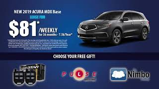 Price Acura has Black Friday Specials all month long!