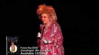Phyllis Diller's farewell stand-up performance