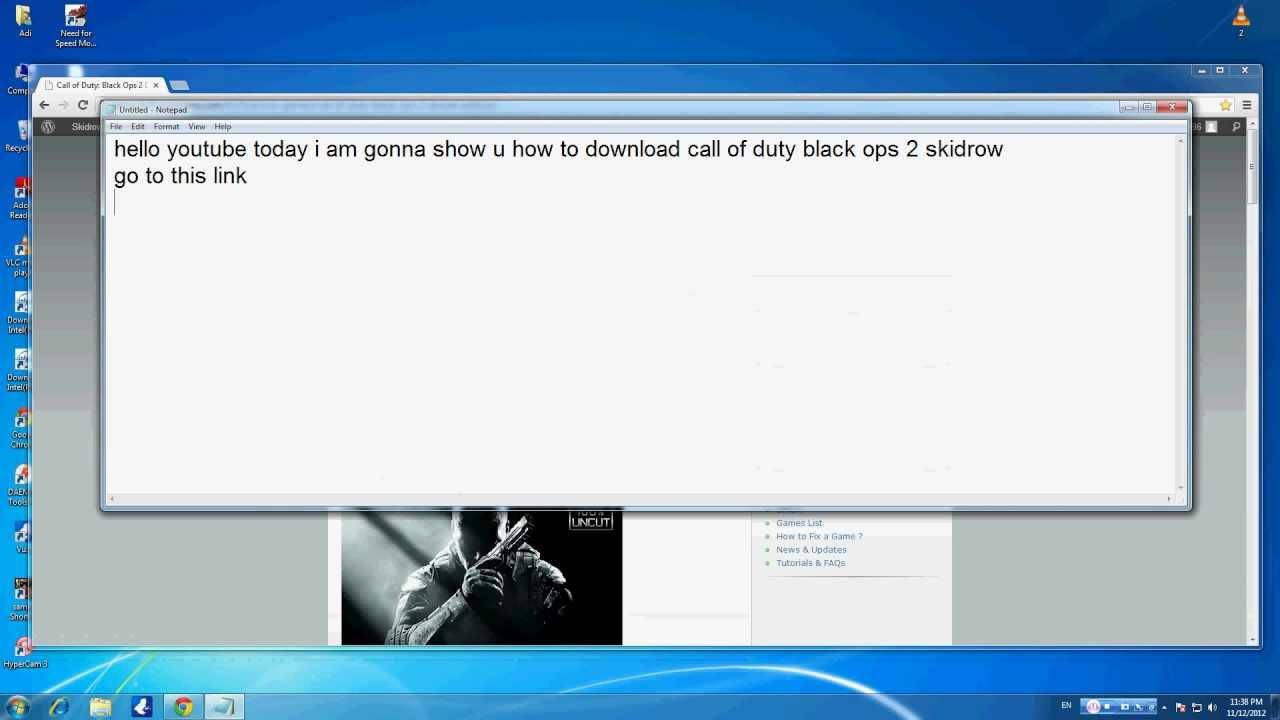 black ops 2 crack only skidrow