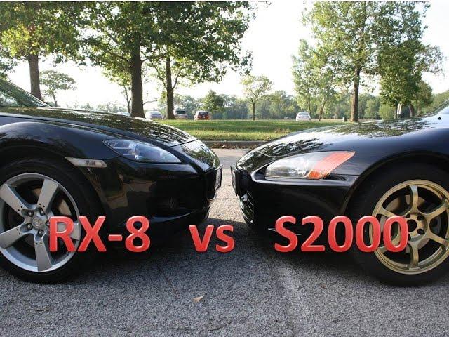 RX-8 vs S2000 - YouTube