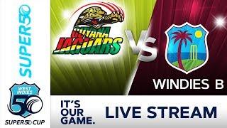 Super50 -Cup - Full Match   Guyana v Windies B   Sunday 7 October 2018