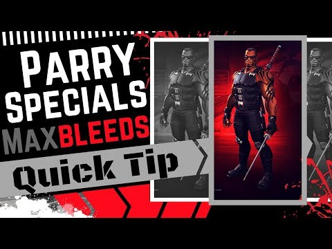 Parry Specials for Max Bleeds w/Blade - Quick Tip   Marvel Contest of Champions