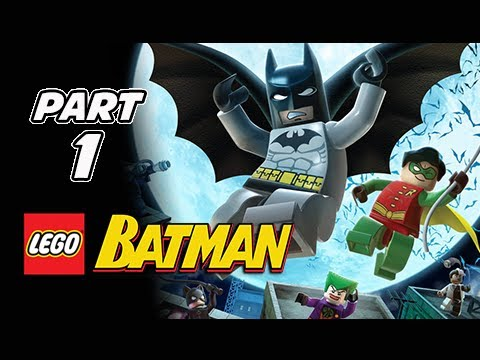 LEGO Batman Gameplay Walkthrough Part 1 - You Can Bank on Batman (Let's Play Playthrough)