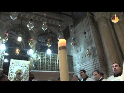 The Easter Vigil at the Holy Sepulchre