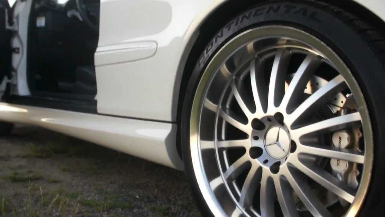 2006 mercedes benz clk55 amg cabriolet for sale custom for Mercedes benz staggered wheels