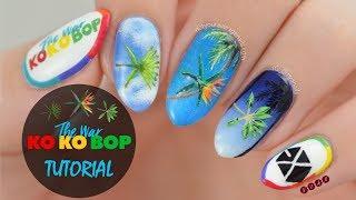 "EXO ""Ko Ko Bop"" Nail Art Tutorial"