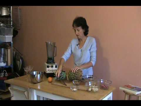 Rene Oswald– Green Smoothie– Raw Food Recipe