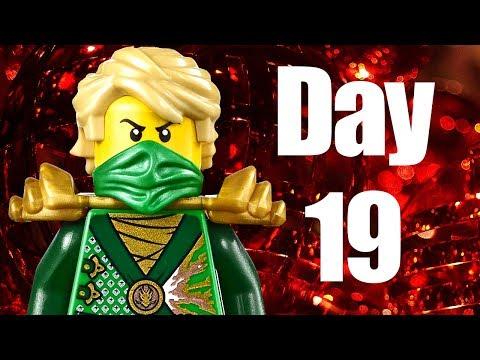 Custom LEGO Ninjago Advent Calendar 2013 Day 19 Review