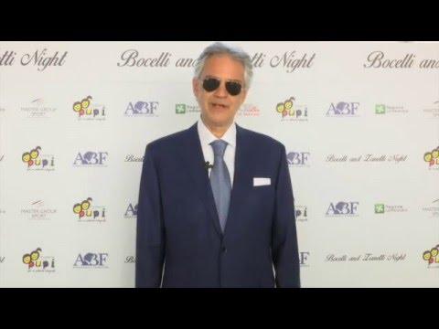 Andrea Bocelli presenta 'Bocelli and Zanetti Night'