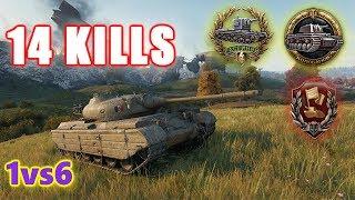 World of Tanks - Progetto 46 - 14 KILLS - 1vs6 - OWNING!