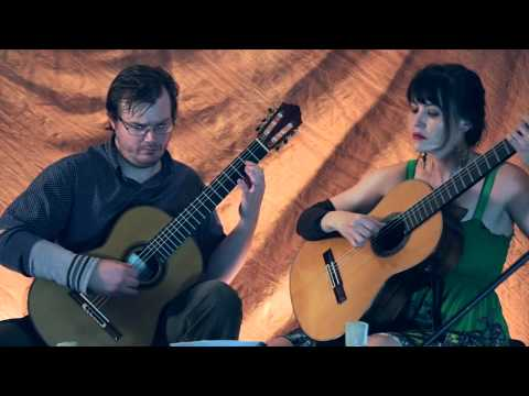 Jason and Heidi - Toy for two lutes, on classical guitar