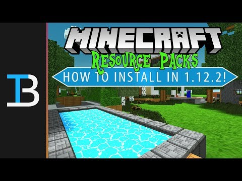 How To Download & Install Resource Packs in Minecraft 1.12.2