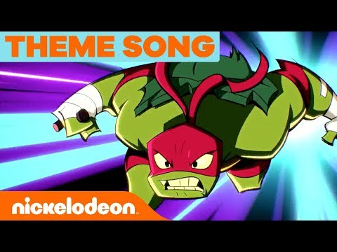'Rise of the Teenage Mutant Ninja Turtles' Official NEW SERIES Theme Song 🎵   Nick
