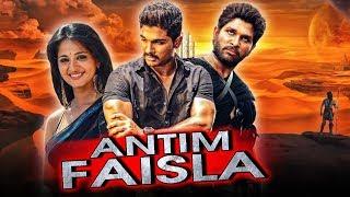 "Allu Arjun Telugu Hindi Dubbed Blockbuster Movie ""Antim Faisla"" | Anushka Shetty"