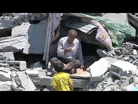 Gaza looks to post war aid to rebuild
