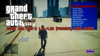 Xbox 360 GTA 5 1.24/1.25 (Private) Online/Offline Mod Menu + Download