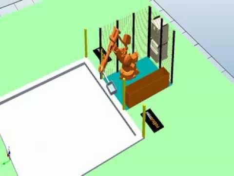 Taşıma Robotu Simülasyonu 6