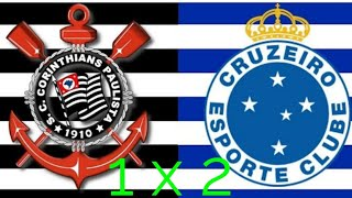 Corinthians 1 x 2 Cruzeiro -  Melhores Momentos (HD) - Final Copa Do Brasil 2018