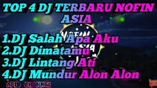 4 DJ top Novin Asia  DJ cek sound full basss