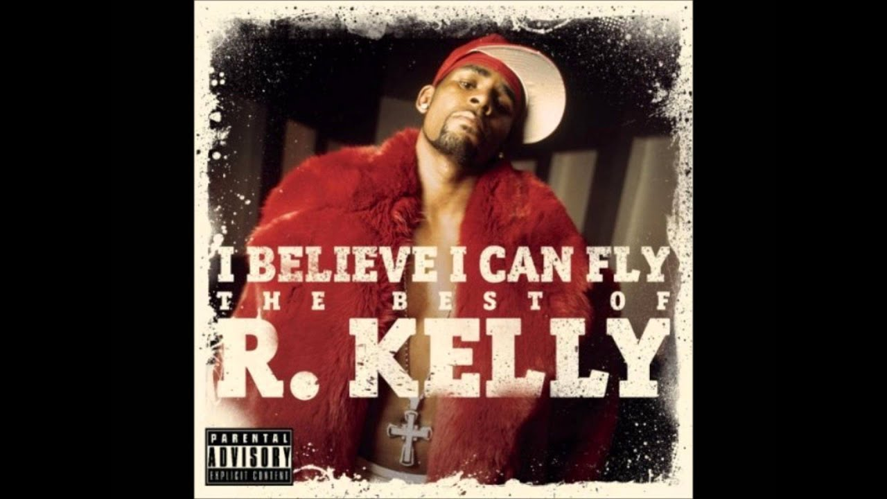 Lyrics containing the term: i believe i can fly by r kelly