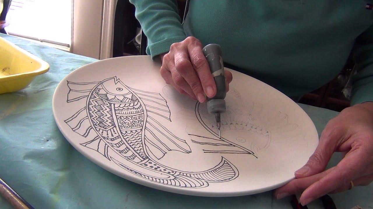 Всё для росписи по керамике