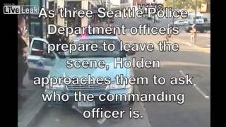 2 Seattle officers in hot water after they harass reporter