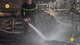 Bình Dương, hỏa hoạn tại công ty TNHH SX- XNK Việt Mỹ