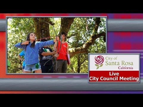 City Of Santa Rosa Council Meeting August 13 - 2019