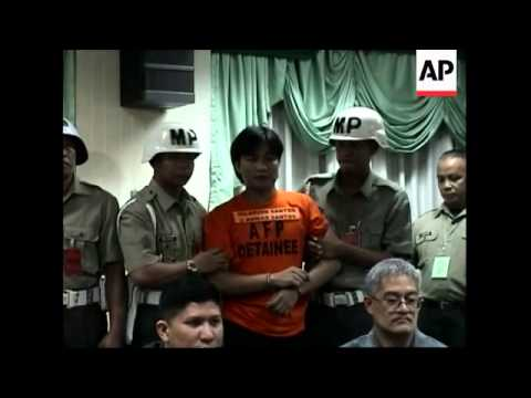Seven suspected militants presented in Manila
